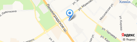 КУПОЛ на карте Химок