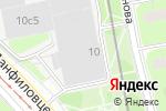 Схема проезда до компании Дженерус в Москве