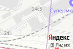Схема проезда до компании ФлайВижн в Москве