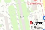 Схема проезда до компании Ваше Золото в Москве