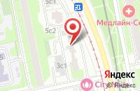 Схема проезда до компании Техприоритет в Москве