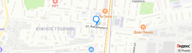 улица Фабрициуса