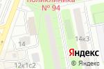 Схема проезда до компании Ди Джи Про в Москве