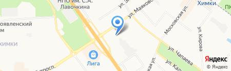 Средняя общеобразовательная школа №8 им. В.И. Матвеева на карте Химок