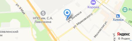 ИНДПРОЕКТ-3 на карте Химок