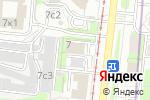 Схема проезда до компании БухПраво в Москве
