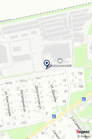 ХЛЕБОЗАВОД № 3 СЕРПУХОВХЛЕБ на карте Серпухова