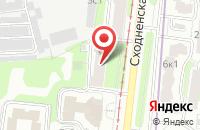 Схема проезда до компании Тандемстрой в Москве