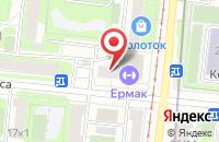 Схема проезда до компании Диамант в Москве