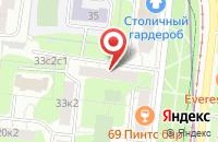 Схема проезда до компании Текстайл Инвест в Москве
