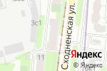 Схема проезда до компании Шеф в Москве