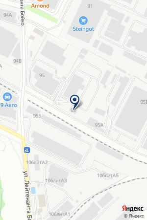 АВТОМОЙКА ЮЛИАН на карте Лобни