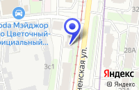 Схема проезда до компании ДЮСШОР ТУШИНО в Москве