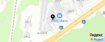 СМС-Авто на карте Москвы