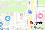 Схема проезда до компании Boroda Moscow в Москве