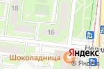 Схема проезда до компании ДентаБраво в Москве