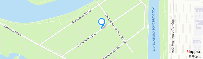 линия Хорошёвского Серебряного Бора 2-я