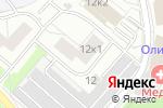 Схема проезда до компании Pandora car alarm system в Москве