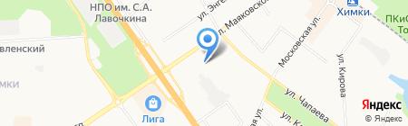Автопрестиж на карте Химок