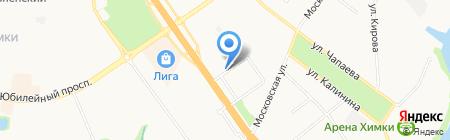 Logibox на карте Химок