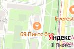 Схема проезда до компании Манхеттен в Москве