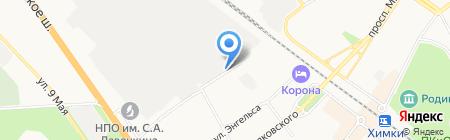 Моторс Лэнд на карте Химок