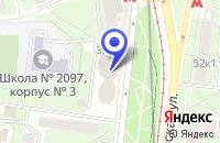 Схема проезда до компании ПТФ СЫСОЕВА М.В. в Москве