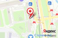 Схема проезда до компании Монотэкс в Москве