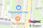 Схема проезда до компании Строительный магазин в Москве
