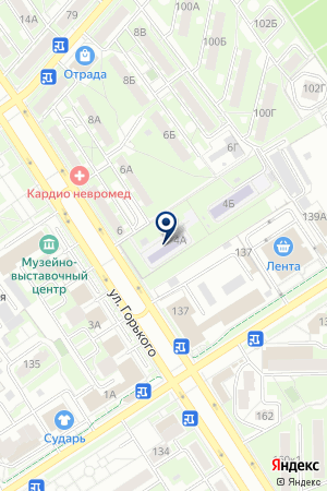 ДЕТСКИЙ САД № 42 на карте Серпухова