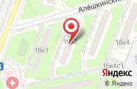 Схема проезда до компании ТрансАвто в Москве