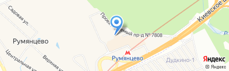 Exelect.ru на карте Москвы