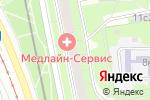 Схема проезда до компании Мастерская по ремонту обуви и изготовлению ключей на ул. Героев Панфиловцев в Москве
