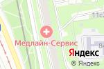 Схема проезда до компании Автобан в Москве