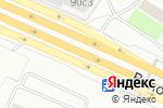 Схема проезда до компании Теплые окна в Москве