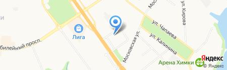 Пульс на карте Химок
