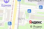 Схема проезда до компании 1000 мелочей в Москве
