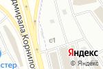 Схема проезда до компании Бордюр 777 в Москве