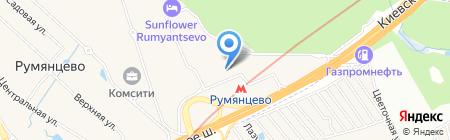 Crownmicro на карте Москвы