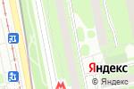 Схема проезда до компании Союз-Планета-1 в Москве