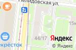 Схема проезда до компании Иберия-Центр в Москве