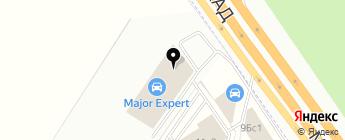 Major Expert на карте Москвы