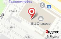 Схема проезда до компании Антария в Москве