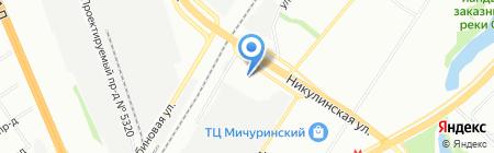СКП-Стайл на карте Москвы