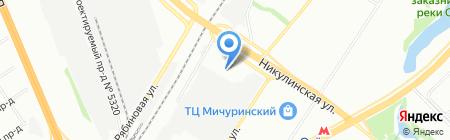 Персона Профи на карте Москвы