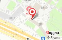 Схема проезда до компании Авиационно-Технический Спортивный Клуб «Планета» в Москве