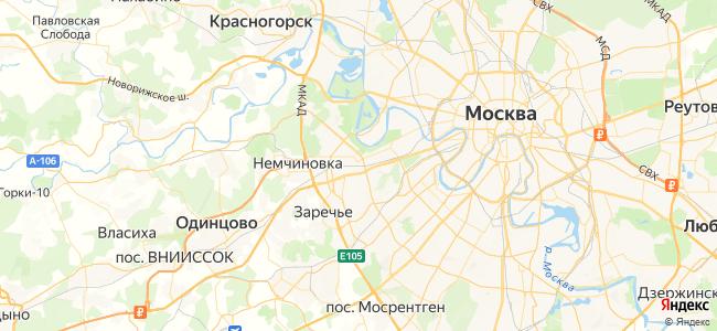 Кубинка-1 - Лобня электричка в Голицыно