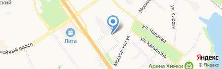 Главное Управление Государственного административно-технического надзора по Московской области на карте Химок