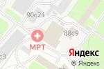 Схема проезда до компании Светочъ в Москве