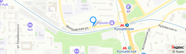 Молдавская улица